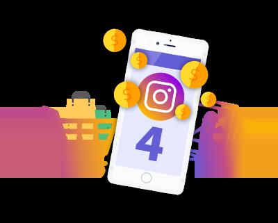 4 метода заработка в Инстаграме 2019 (легкие деньги в Instagram)