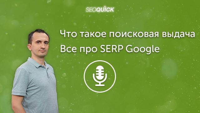 Что такое поисковая выдача – Все про SERP Google   Урок #308